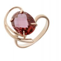 Золотое кольцо с ситалом КСК17-10154