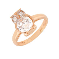 Золотое кольцо с фианитами АБ1201381Р детское