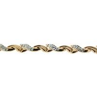 Золотой браслет ПЗА023015