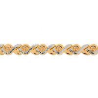 Золотой браслет ПЗА023017 женский