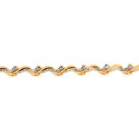 Золотой браслет ПЗА023013 женский