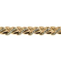 Золотой браслет ПЗА023008 женский