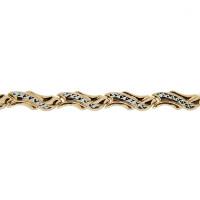Золотой браслет ПЗА023016