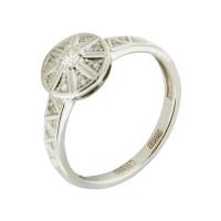 Золотое кольцо с бриллиантами 9К11-1467