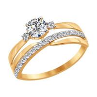 Золотое кольцо ДИ016918