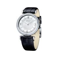 Серебряные часы с фианитами ДИ106.30.00.001.03.01.2