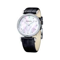 Серебряные часы с фианитами ДИ106.30.00.001.05.01.2