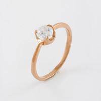 Золотое кольцо с фианитами 2БКЗ5К.1-01-1022-01