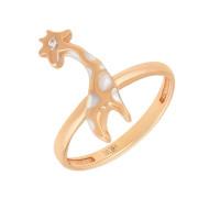 Золотое кольцо с фианитами АБ1201361Р