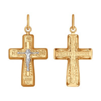 Золотой крест ДИ120110
