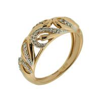 Золотое кольцо с бриллиантами ХС050060321
