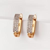 Золотые серьги с бриллиантами ХС051060021