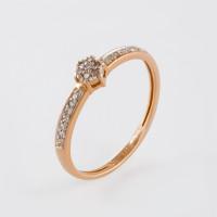 Золотое кольцо с бриллиантами ХС050057621