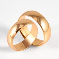 Золотое кольцо обручальное ДИ110029