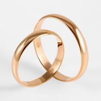 Золотое кольцо обручальное ДИ110031