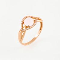 Золотое кольцо с фианитами ЮЫ2000000225919