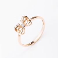 Золотое кольцо с бриллиантом ВБ1447-151-01-00