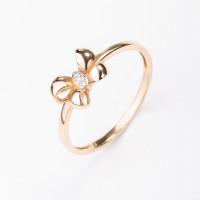 Золотое кольцо с бриллиантами ВБ1450-151-01-00