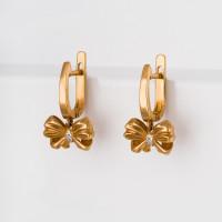 Золотые серьги подвесные с бриллиантами ВБ2452-151-01-00