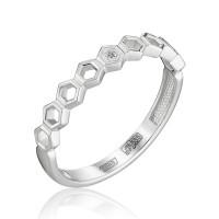 Золотое кольцо с бриллиантом ЮЗ1-11-0854-201