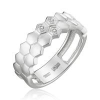 Золотое кольцо с бриллиантами ЮЗ1-11-0856-201