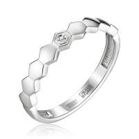 Золотое кольцо с бриллиантом ЮЗ1-11-0857-201