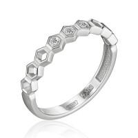 Золотое кольцо с бриллиантами ЮЗ1-11-0851-201