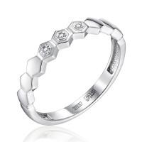 Золотое кольцо с бриллиантами ЮЗ1-11-0855-201