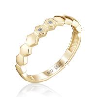 Золотое кольцо с бриллиантами ЮЗ1-31-0256-301