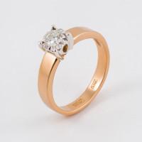 Золотое кольцо с бриллиантом ЮЗ1-11-0800-101