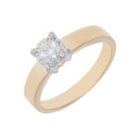 Золотое кольцо с бриллиантом ЮЗ1-11-0800-301 Якутия