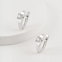Золотые серьги с бриллиантами ЮЗ2-11-0800-201