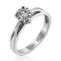 Золотое кольцо с бриллиантом ЮЗ1-11-0807-201