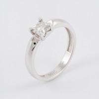 Золотое кольцо с бриллиантом ЮЗ1-11-0838-201