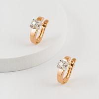 Золотые серьги с бриллиантами ЮЗ2-11-0800-101