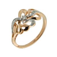 Золотое кольцо с бриллиантами АО11236-100