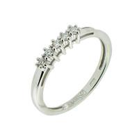 Золотое кольцо с бриллиантами ЗСК13900069