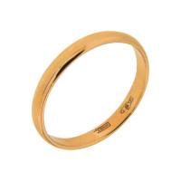 Золотое кольцо обручальное МЯ122500